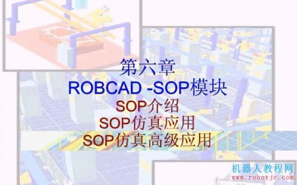 第六章:Robcad联动SOP模块操作教程