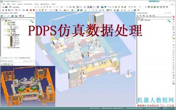 第三章:PDPS仿真数据处理操作教程