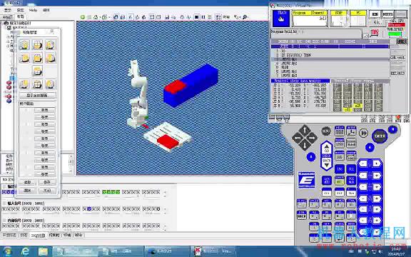 K-ROSET_01 川崎机器人仿真软件K-ROSET基础视频教程