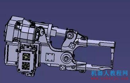 PDPS教程 3.1 | PDPS仿真培训教程的X型焊钳原始数模处理